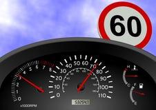 Speeding Royalty Free Stock Images
