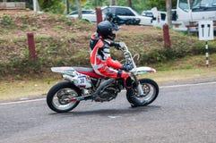Speeding bick Stock Photography