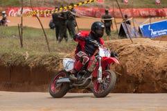 Speeding bick Royalty Free Stock Photography