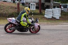 Speeding bike Stock Photos
