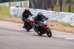 Speeding bikes Royalty Free Stock Photo