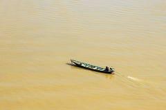Speeding boat Stock Photography