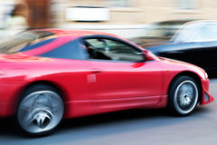 Speeding car Royalty Free Stock Photos