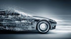 Free Speeding Car Concept Royalty Free Stock Image - 65434296