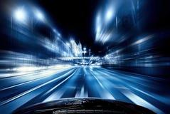 Speeding car Stock Photos