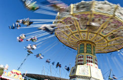Carousel at the show. The carousel at the Royal Easter Show Sydney 2012. Copyspace royalty free stock photos
