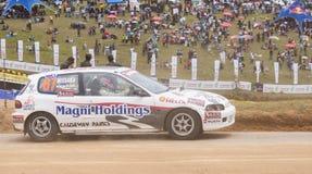 Speeding cars Royalty Free Stock Photo