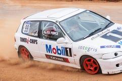Speeding cars Stock Image
