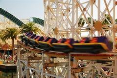 Speeding Coaster royalty free stock photo