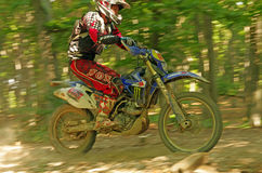 Speeding Enduro Stock Photography