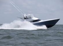 Speeding Home to Ocean City Maryland Stock Photo