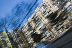 Speeding Motion Blur Royalty Free Stock Photos