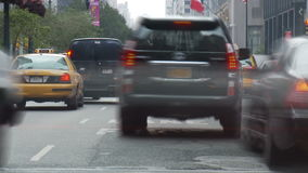Speeding nyc traffic. Video of speeding nyc traffic stock footage