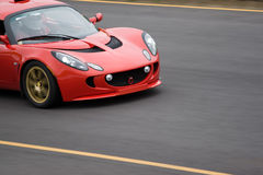 Speeding Sports Car Stock Photos