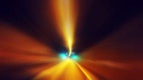 Speeding through the tunnel Stock Photo
