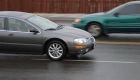 Speeding vehicles Stock Photos