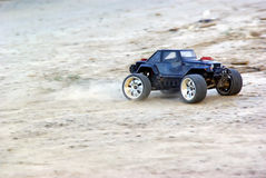 Speeding Wrangler car Royalty Free Stock Photo