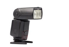 Speedlight-Blitz Stockbilder