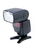 Speedlight de destello de la cámara Foto de archivo libre de regalías
