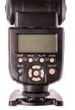 Speedlight kontrollbord Fotografering för Bildbyråer