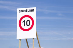 Speedlimit Royalty Free Stock Photo
