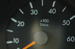 Speedmeter Royalty Free Stock Photos