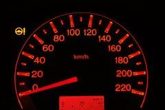 Speedmeter Zdjęcie Stock