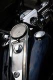 Speedmeter de motocyclette Photographie stock libre de droits