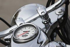 Speedo auf motocycle Stockbilder