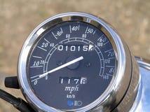 Speedometer. Motor-Bike Speedo royalty free stock images