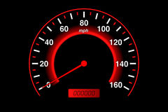 speedometer vektor illustrationer
