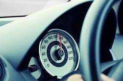 speedometer Royaltyfri Fotografi