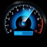 Speedometer royalty free illustration
