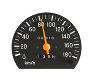 Speedometer Arkivfoto