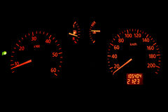 speedometer Στοκ εικόνα με δικαίωμα ελεύθερης χρήσης