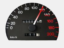 Speedometer_3 Royalty-vrije Stock Afbeelding