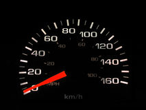 Speedometer.  Royalty Free Stock Image
