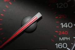 Speedometer. Car speedometer stock photography