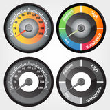 speedometer Photos libres de droits
