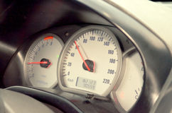 speedometer Arkivbild