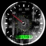 Speedometer stock illustrationer