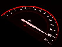 Speedometer. Royalty Free Stock Images