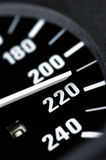 speedometer Στοκ φωτογραφία με δικαίωμα ελεύθερης χρήσης