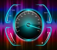 Speedometer abstract background Stock Photos