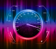 Speedometer abstract background Stock Photo
