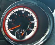 Speedometer. Automobile , Van, Dodge Royalty Free Stock Photo