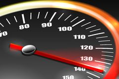 Speedometer Background Royalty Free Stock Photos