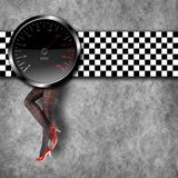 Speedometer background Royalty Free Stock Photo