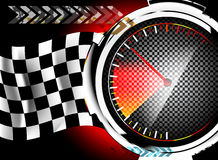 Speedometer background Royalty Free Stock Image