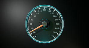 Speedometer Blue Fast Speed Royalty Free Stock Images